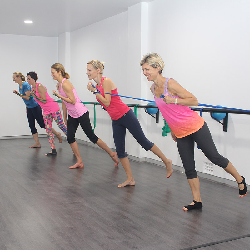 Anja Lineen exercise class